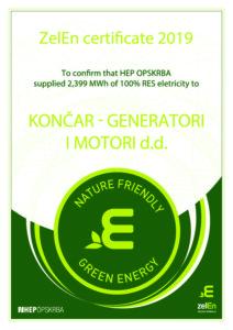 ZelEn (Green Energy certificate)
