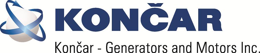 Končar Generatori i motori Logo